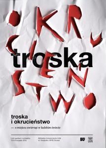 Troska i Okrucieństwo - trzydniowa konferencja w Poznaniu