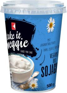 Wegańskie produkty w Kauflandzie - jogurt sojowy Take it Veggie