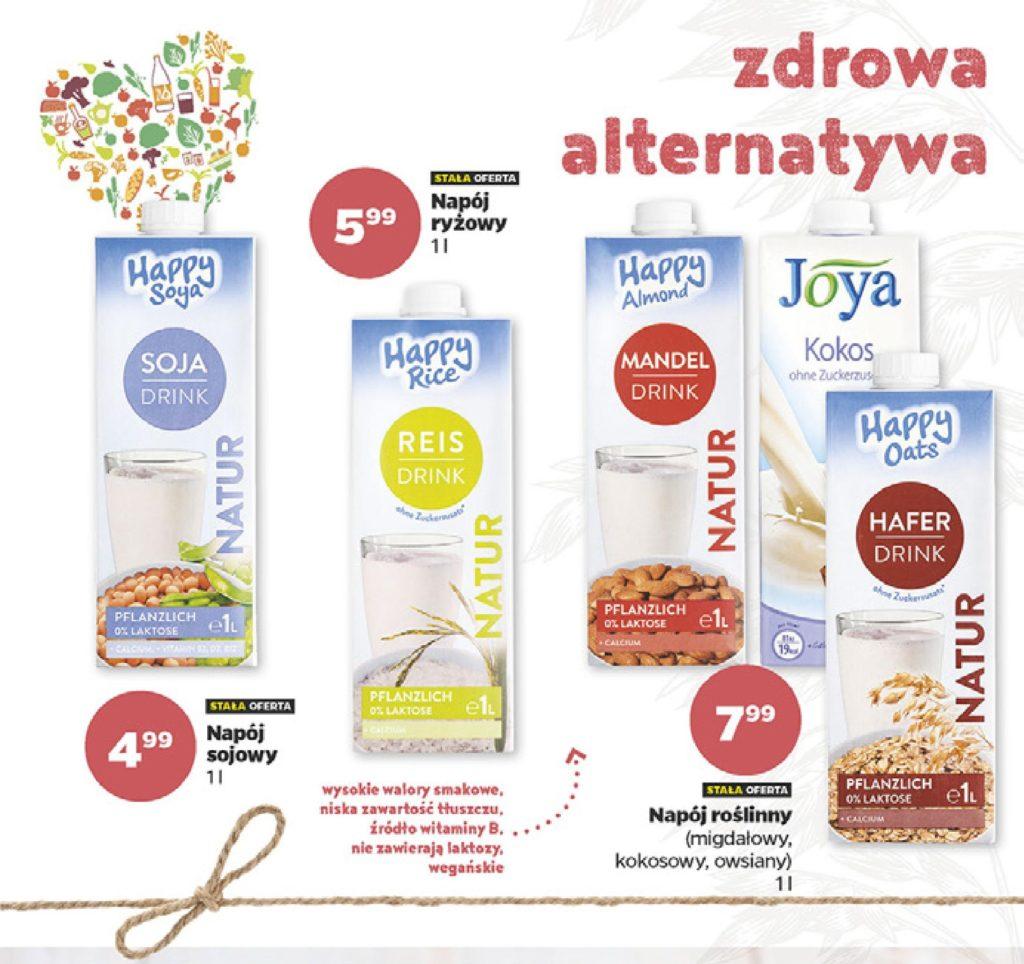 Wegańskie produkty w Netto - mleko roślinne