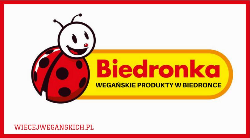 Wegańskie produkty w Biedronce