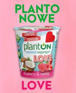 planton malinowy jogurt kokosowy