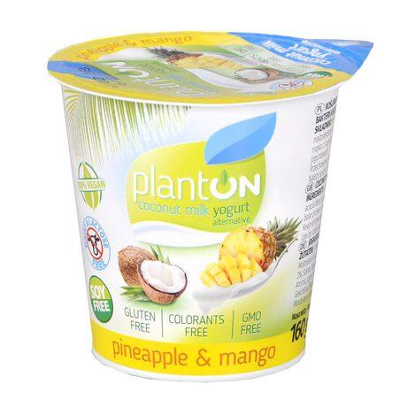 planton jogurt kokosowy ananas mango