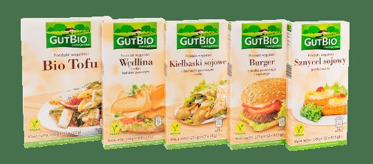 Wegańskie produkty Gut Bio